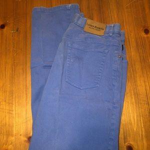 Ralph Lauren blue in color jeans